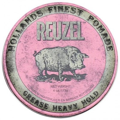 REUZEL-Pommade rose à tenue forte 4oz