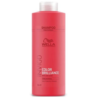 Wella-Brilliance shampoing fins/normaux Litre